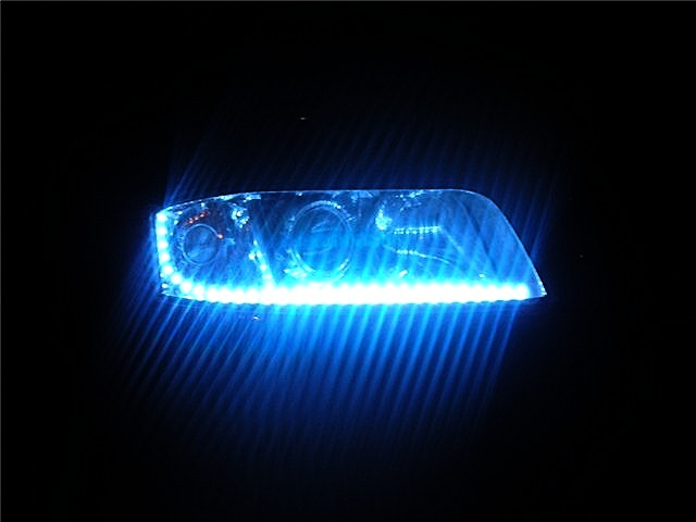 Как сделать светодиодные фары в машину